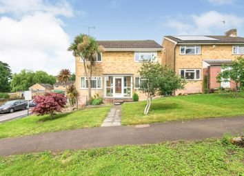 Thumbnail 4 bed detached house for sale in Grays Close, Colden Common, Winchester