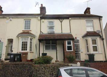 Thumbnail 3 bed terraced house to rent in Knockhall Road, Greenhithe, Kent
