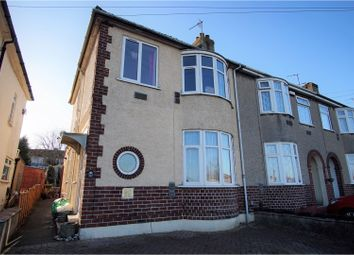 Thumbnail 3 bed end terrace house for sale in Station Road, Filton