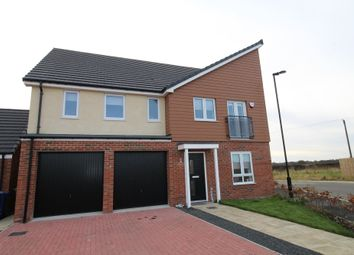 Thumbnail 5 bedroom detached house to rent in Merlin Chase, Newcastle Upon Tyne