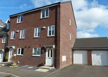 Thumbnail 4 bed town house for sale in 24, Wylam Close, Clay Cross Chesterfield, Derbyshire