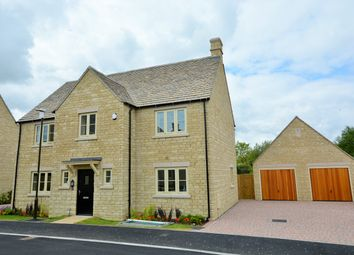 Thumbnail 4 bed detached house for sale in Stephens Close, Downington, Lechlade, Gloucestershire