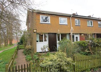 Thumbnail 3 bed end terrace house for sale in Chaucer Close, Reading