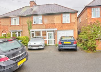 Thumbnail 3 bed semi-detached house for sale in James Street, Earl Shilton, Leicester