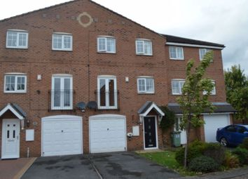 Thumbnail 3 bed town house for sale in Willowbridge Close, Whitwood, Castleford