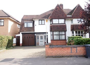 Thumbnail 5 bed semi-detached house for sale in Wakerley Road, Leicester