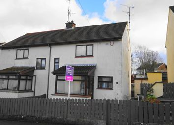 Thumbnail 3 bedroom semi-detached house for sale in Gortmore Park, Omagh
