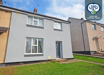 Thumbnail 3 bed semi-detached house for sale in St Austell Road, Wyken, Coventry