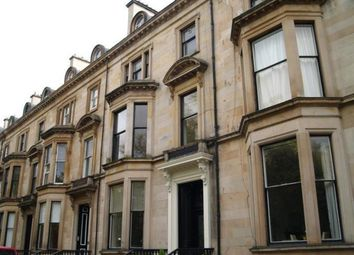 Thumbnail 2 bedroom flat to rent in Belhaven Terrace, Glasgow