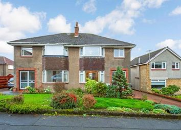 Thumbnail 3 bed semi-detached house for sale in Eagle Crescent, Bearsden, Glasgow, East Dunbartonshire