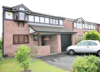 Thumbnail 4 bed detached house for sale in Weaver Road, Culcheth, Cheshire