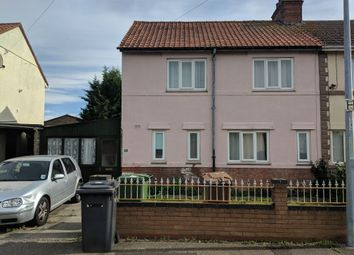 Thumbnail 3 bed semi-detached house to rent in Muswell Road, Peterborough