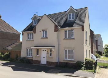 Thumbnail 6 bed detached house for sale in Endeavour Road, Oakley Park, Swindon