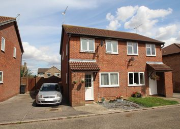 Thumbnail Semi-detached house for sale in Hessett Close, Stowmarket