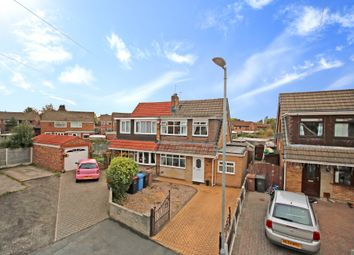 Thumbnail 3 bed semi-detached house for sale in Edale Close, Manchester