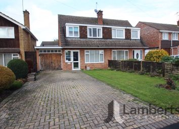 Thumbnail 3 bed semi-detached house for sale in Monks Drive, Studley