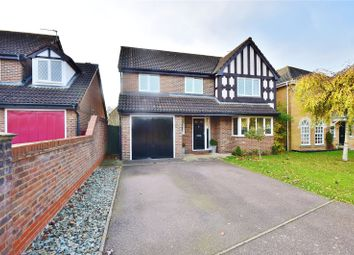 Thumbnail 5 bedroom detached house for sale in Mayflower Gardens, Bishop's Stortford