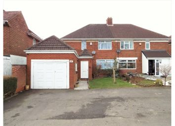 Thumbnail 4 bed semi-detached house for sale in Highters Heath Lane, Birmingham