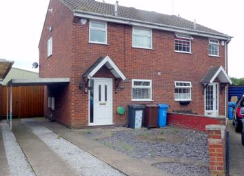 Thumbnail 2 bed semi-detached house to rent in Middleham Close, Hull