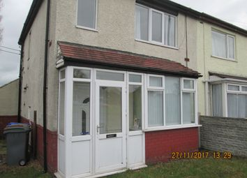 Thumbnail 2 bed semi-detached house to rent in Chell Heath Road, Stoke On Trent, Stoke On Trent, Staffordshire