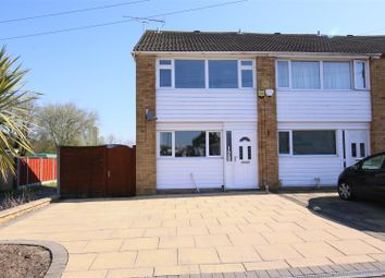 Thumbnail 3 bed end terrace house for sale in Freemantle Road, Bilton, Rugby