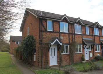 Thumbnail End terrace house for sale in Quincy Road, Egham