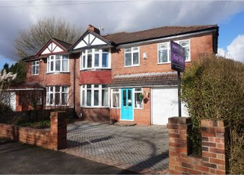 Thumbnail 4 bed semi-detached house for sale in Cranleigh Drive, Sale