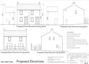 Thumbnail 2 bed semi-detached house for sale in Adjacent To 2 Pulvertoft Lane, Boston, Lincs