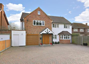 Thumbnail 6 bed detached house for sale in Shenley Hill, Radlett