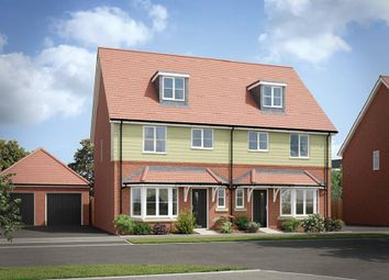 "Thumbnail 4 bed detached house for sale in ""The Bampton Detached"" at Burlina Close, Whitehouse, Milton Keynes"