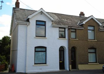 Thumbnail 3 bed end terrace house for sale in Norton Road, Penygroes, Llanelli, Carmarthenshire