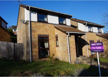 Thumbnail 3 bed link-detached house for sale in Lowden Close, Winchester