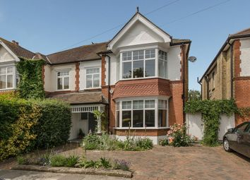 Thumbnail 4 bed semi-detached house for sale in Manor Gardens, Merton Park, London