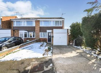 Thumbnail 3 bed semi-detached house for sale in Bowers Close, Silver End, Witham