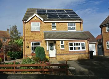 Thumbnail 4 bed detached house for sale in Churchfields Road, Folkingham, Sleaford, Lincolnshire