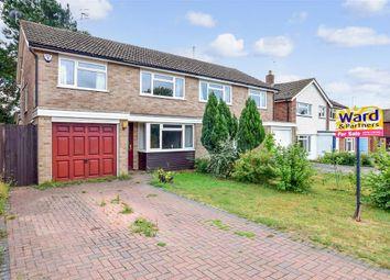 Thumbnail 3 bed semi-detached house for sale in Wilson Close, Hildenborough, Tonbridge, Kent