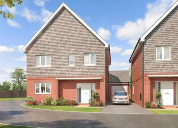 Thumbnail 4 bed semi-detached house for sale in Old Hamsey Lakes, South Chailey, East Sussex