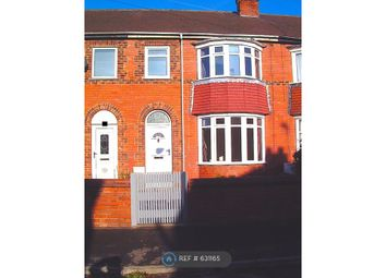 Thumbnail 3 bed terraced house to rent in Avondale Road, Doncaster