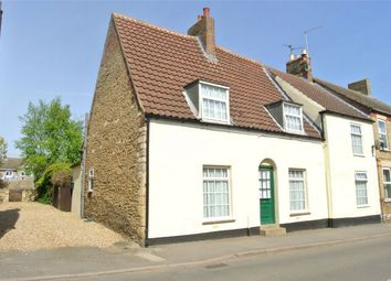 Thumbnail 4 bed end terrace house for sale in Main Street, Farcet, Peterborough