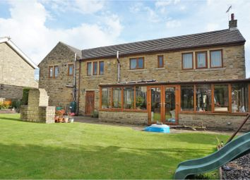Thumbnail 4 bed detached house for sale in Green Lane, Halifax