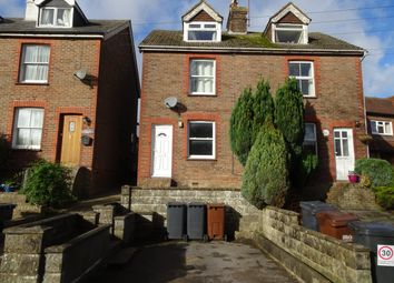 Thumbnail 3 bed semi-detached house to rent in Green Lane, Crowborough