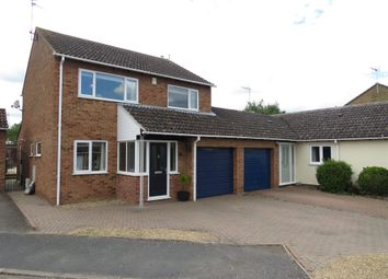 Thumbnail 4 bed link-detached house for sale in Castel Way, Folksworth, Peterborough