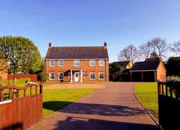 Thumbnail 4 bed country house for sale in Willows Close, Tydd St Mary, Lincolnshire