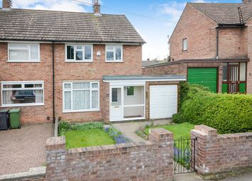 Thumbnail 2 bed semi-detached house for sale in Bramham Avenue, York