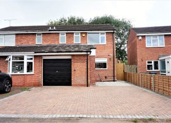 Thumbnail 3 bed semi-detached house for sale in Delage Close, Coventry