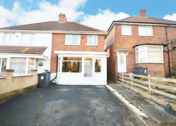 Thumbnail 3 bed semi-detached house for sale in Gracemere Crescent, Hall Green, Birmingham