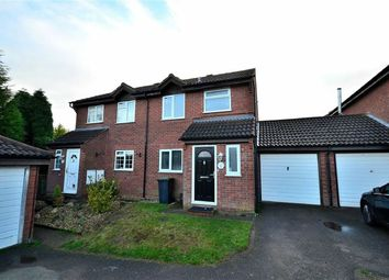 Thumbnail 3 bed semi-detached house to rent in Tyne Close, Flitwick, Bedford