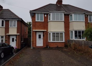 Thumbnail 3 bed semi-detached house for sale in Woolacombe Lodge Road, Birmingham B29, Birmingham,