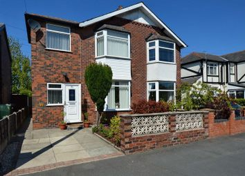 Thumbnail 4 bed semi-detached house for sale in Willow Road, Prestwich, Manchester