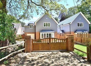 Thumbnail 4 bed detached house for sale in Cottagers Lane, Hordle, Lymington